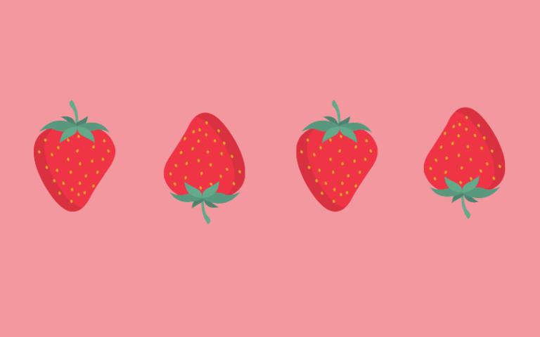 Strawberry mask 2
