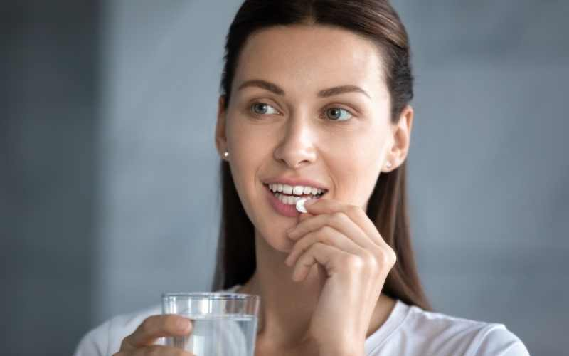 Probiotics can help to improve your gut health and promote healthy skin.