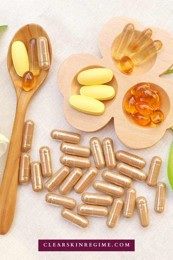 If you struggle with acne or other skin conditions, you might be vitamin deficient. These 7 supplements can help clear your skin.