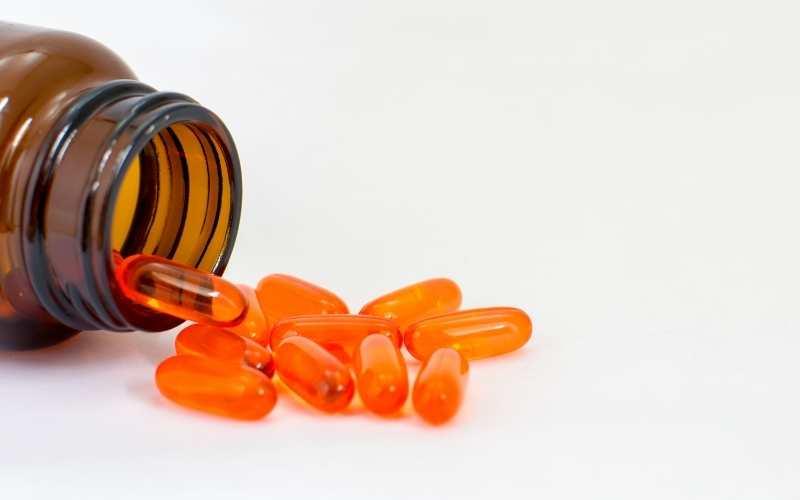 Vitamin E fights off free-radicals in skin.